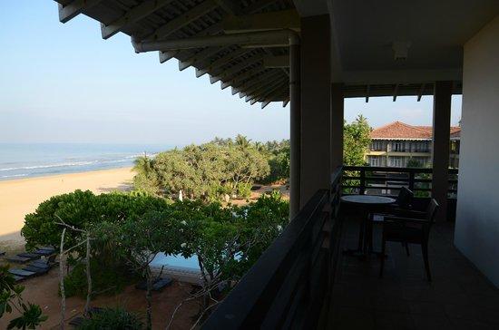 Heritance Ahungalla: Half of the balcony