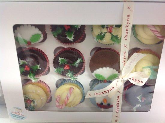 The Baking Birds : Christmas cupcakes