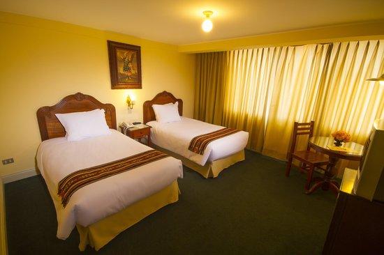 Hotel Agusto´s Cusco: HABITACIÓN DOBLE TWIN