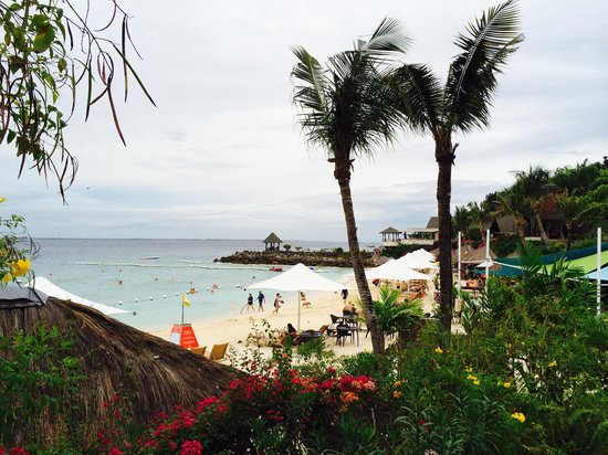 Shangri-La's Mactan Resort & Spa: ビーチ