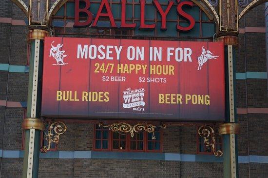 Bally's Atlantic City: Wild Wild West Bar
