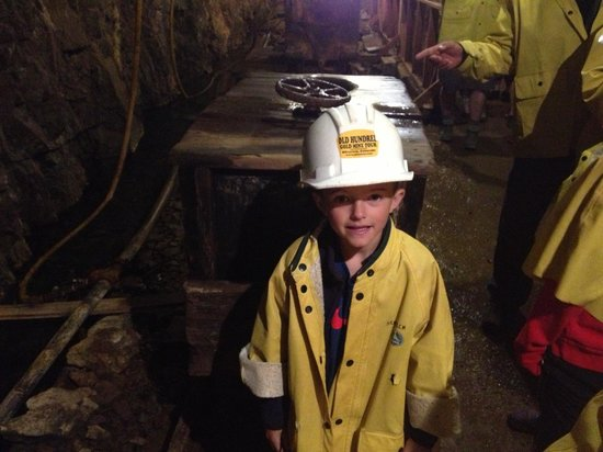 Old Hundred Gold Mine Tour: Great tour for kids.