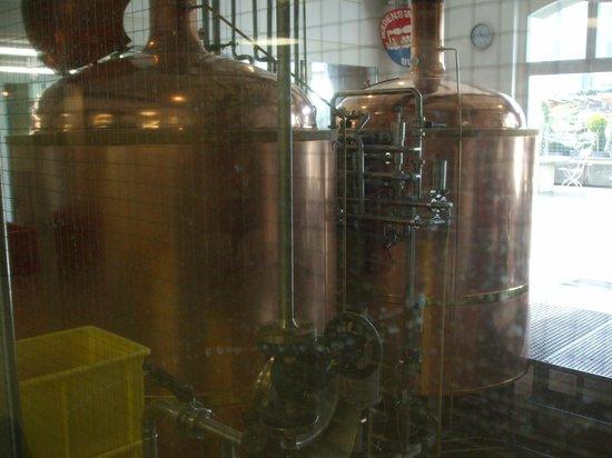 Wädi-Brau-Huus: Beer tanks