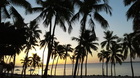 The Westin Denarau Island Resort & Spa Fiji: The view from my room of an evening