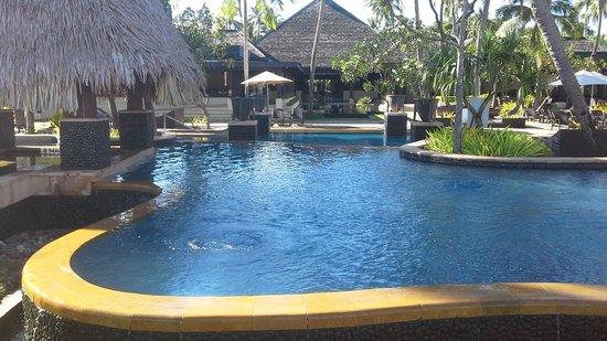 The Westin Denarau Island Resort & Spa Fiji: One of the many pools we could access