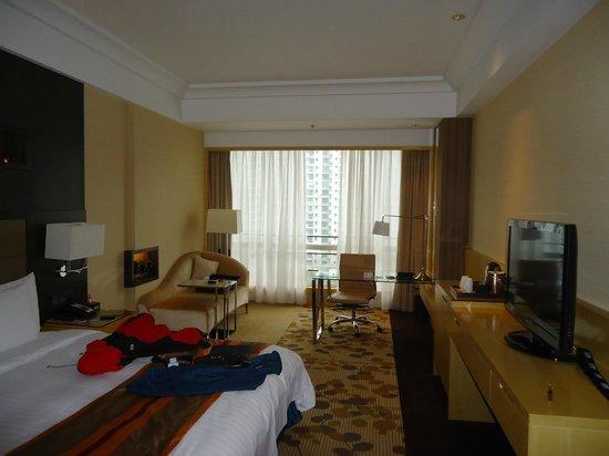 Courtyard by Marriott Shanghai Central: Excelente limpieza en habitaciones