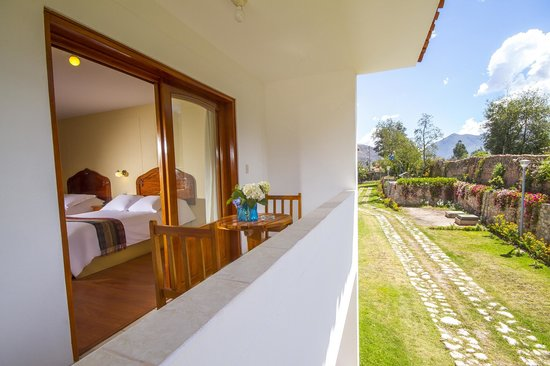 Hotel Agustos Urubamba: TERRAZA