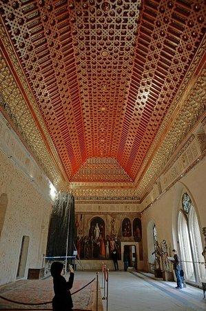 Alcázar de Segovia: Alcazar of Segovia - ceiling