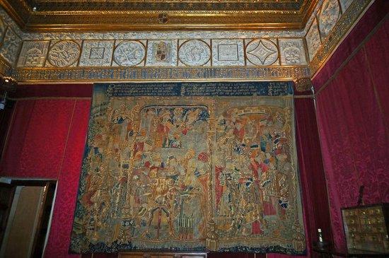 Alcazar de Segovia: Alcazar of Segovia - tapestry