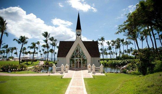 Grand Wailea - A Waldorf Astoria Resort: Wedding Chapel