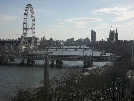 The Savoy : River View From Suite 714