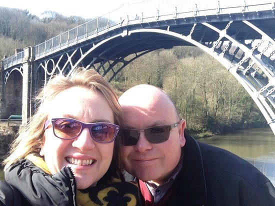 The Iron Bridge and Tollhouse: Selfie and a World First……….