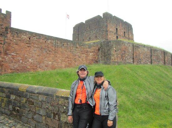 Carlisle Castle: A la entrada del castillo