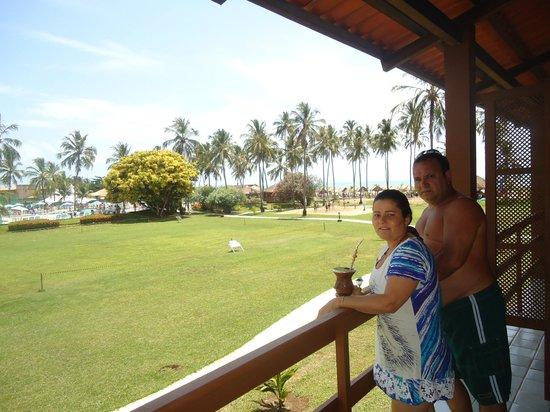 Salinas Maragogi All Inclusive Resort: Vista do quarto dos meus pais! Pertinho da quadra de jogos e da praia