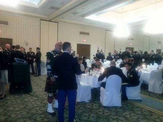 Holiday Inn Fayetteville I-95 South : Military ball