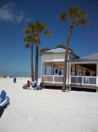 Palm Pavilion Beachside Grill & Bar: Best Beach Bar on Clearwater Beach