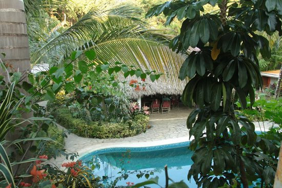 Secret Garden: Ausblick vom Balkon