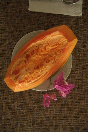 Secret Garden: Frisches Obst zum Frühstück
