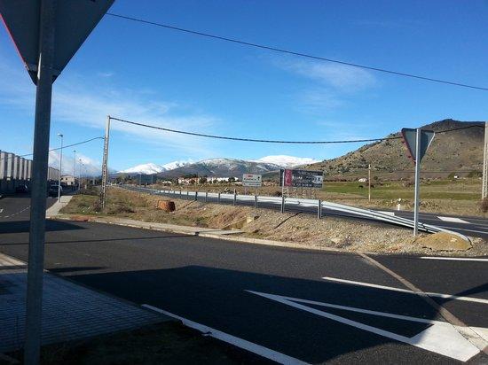 Hotel Mirador de Gredos : Vistas desde la cafetería