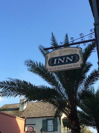 St. George Inn : Beautiful Hotel and Scenery