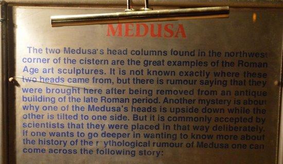 Basilica Cistern: Medusa Explanation Part 1