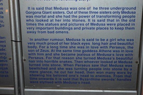 Basilica Cistern: Medusa Explanation Part 2