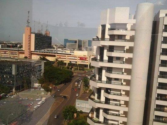 St Paul Plaza Hotel: vista do apartamento