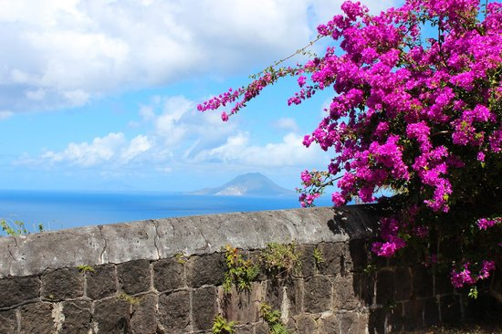 Island Paradise Tours : I believe the island is St. Eustacia. This view was from the fortress.