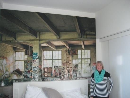 Hotel Indigo Berlin - Ku'damm: Bedroom wall mural