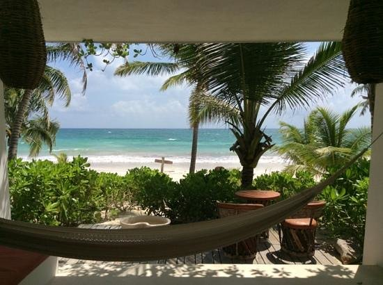 The Beach Tulum : view from room