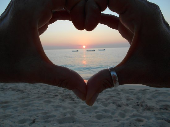Osprey Beach Hotel: Just one of our lovely sunsets