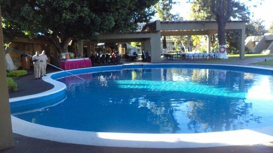 Camino Real Guadalajara: A maior das cinco piscinas do Camino Real