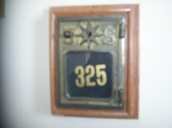 BEST WESTERN The Hotel Chequamegon : our room number