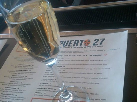 Puerto 27 : A bubbly, please
