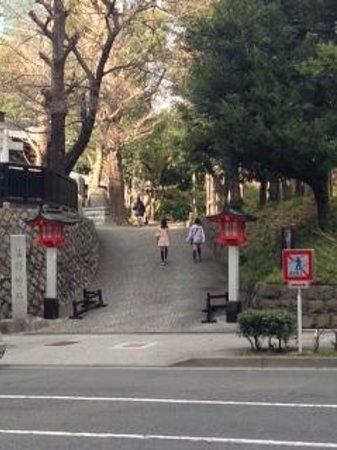 Kumano Shrine : 中央公園の一角にあります