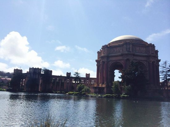 The Great Pacific Tour Co.: Palace of Fine Arts