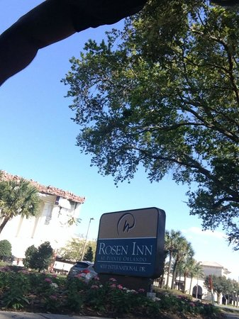 Rosen Inn at Pointe Orlando: Entrada