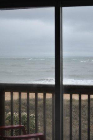 The Saint Augustine Beach House: ocean front view