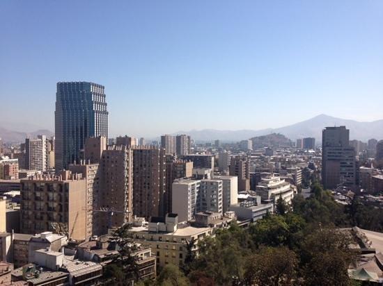 Crowne Plaza Santiago: camera con vista