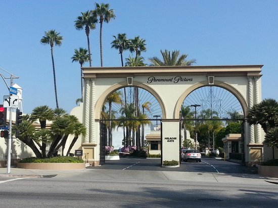 Hollywood Paramount Pictures Studio Gates American Riviera Private Tours Los Angeles