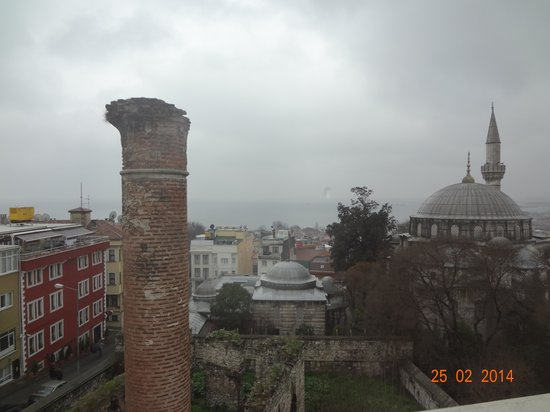 Ada Hotel Istanbul: view from my room