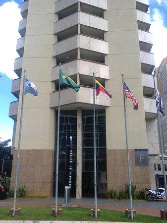 Brasil 21 Suites: entrada