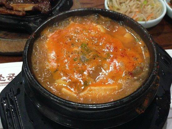 So Kong Dong: 豆腐チゲ鍋