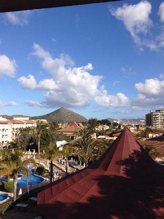 Viva Blue: blick vom Balkon
