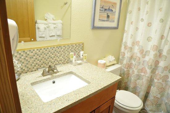 Breakers Hotel and Condo Suites: Bathroom in One Bedroom Condo