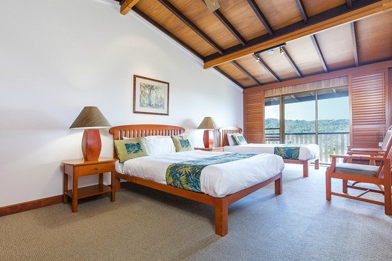 O'Reilly's Rainforest Retreat, Mountain Villas and Lost World Spa: Mountain View Twin Room