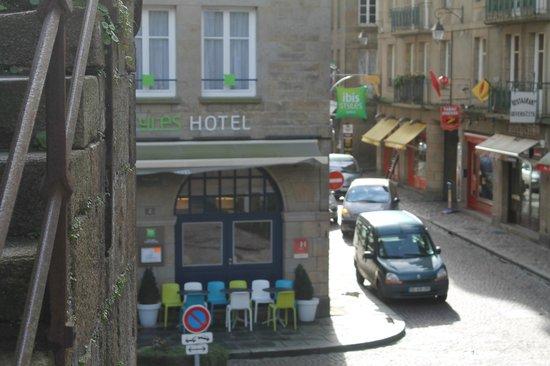 ibis Styles Saint-Malo Centre Historique : facade