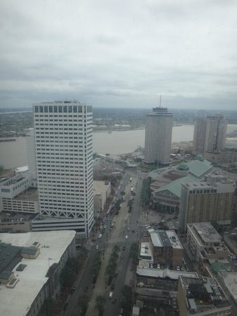 Sheraton New Orleans Hotel: View from room