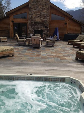 Brasstown Valley Resort & Spa: View from hot tub