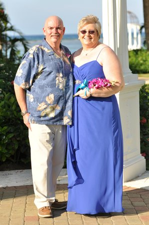 Sandals Royal Caribbean Resort and Private Island : vow renewal
